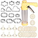 Good Stainless Grips Cookie Press Kit Biscuit Maker Cake Dessert Rings Christmas Disk Set Cake Decorating Supplies
