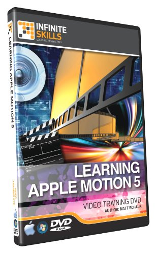 Learning Apple Motion 5 - Training DVD - Tutorial Video - Over 10 Hours Of Training