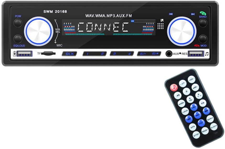 Autoradio Autoradios Bluetooth Mit Usb Und Hands Free Mp3 Player Mit Netz Aus Speicher Und Zeitanzeige Auto