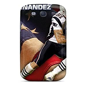 Shock-Absorbing Hard Cell-phone Case For Samsung Galaxy S3 (sia7566yAqJ) Allow Personal Design Nice New England Patriots Pattern hjbrhga1544