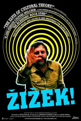 Unframed poster Zizek!Movie 27x40inch(69x102cm)