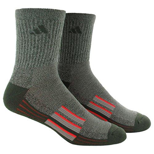 Adidas Men S Climalite X Ii Mid Crew Socks Pack Of 2