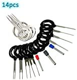 Adduswin T0025D Auto Terminals Removal Key Tool Set | Car Electrical Wiring Crimp Connector Extractor Puller Release Pin Kit