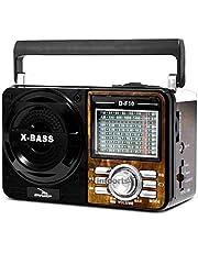 Radio Caixa de Som Retro (Marrom)