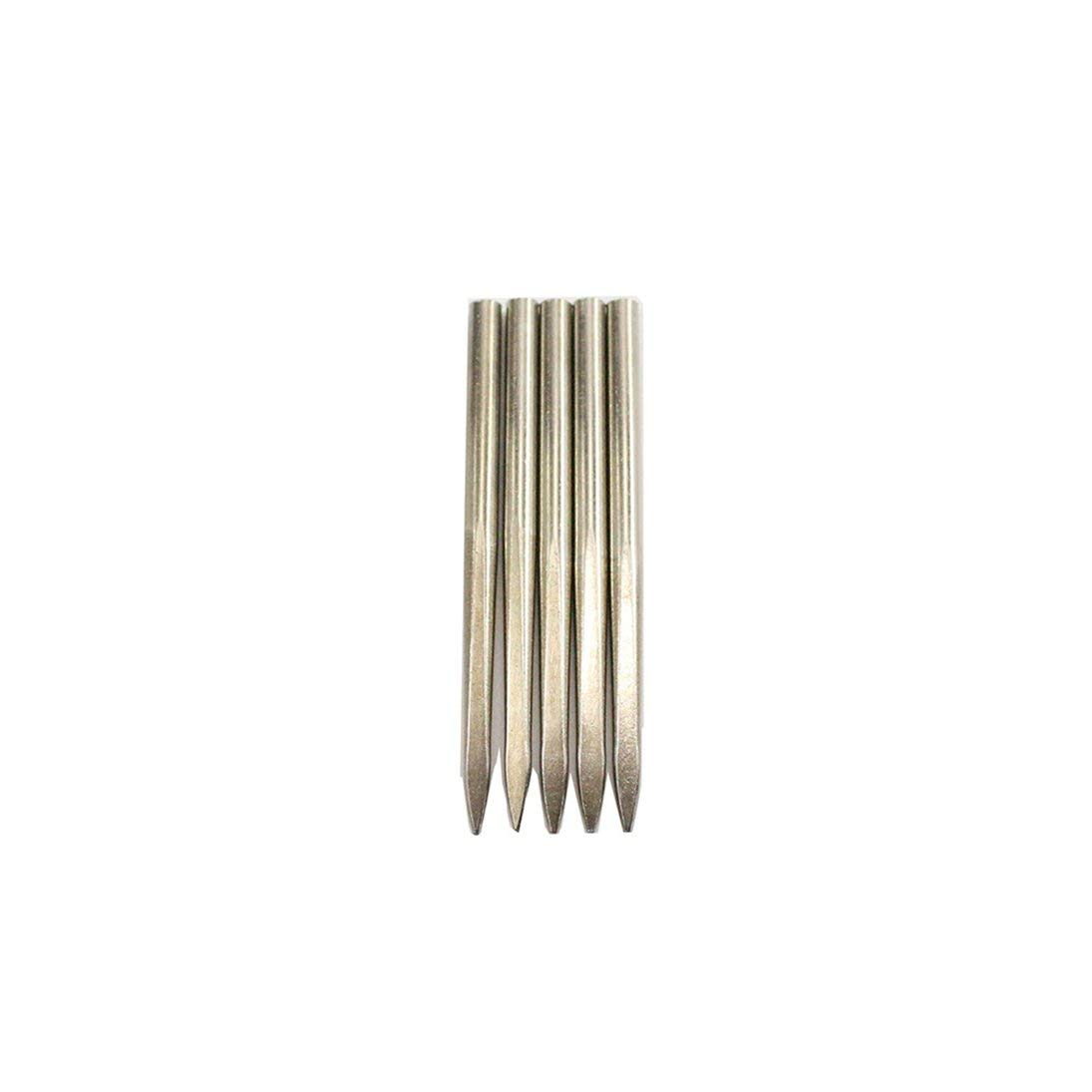 Baynne Flat Head Stainless Steel Needle Paracord FID Tool Lacing Stitching Needles for Paracord Bracelet Leather Weaving Tool