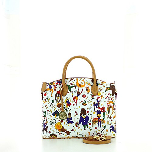 ORIGINAL PIERO GUIDI Bolsa Magic Circus Mujer - 21h474088-p4 BIANCO