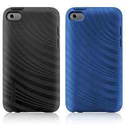 Belkin F8w012ebc00-2 Essential 023 Case For Apple Ipod Touch 4g - 2 Pack - Blacktopcivic Blue
