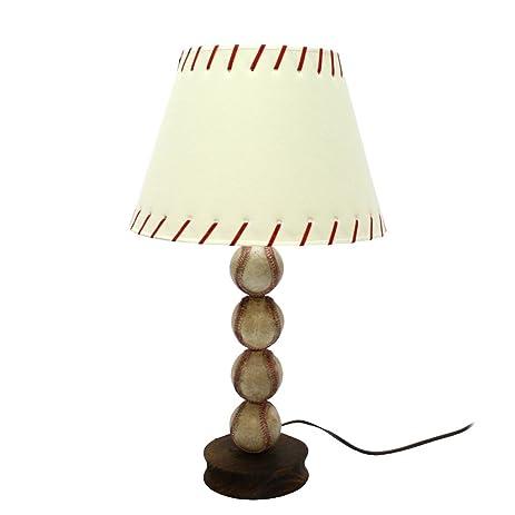 Amazon.com: DEI Stacked Baseball Lamp: Home & Kitchen