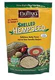Nutiva Organic, Raw, Shelled Hempseed from non-GMO, Sustainably Farmed Canadian Hemp, 8-ounce (Pack of 3)