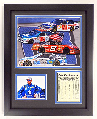 (Dale Earnhardt Jr. - Victory Lap Season - Framed 12