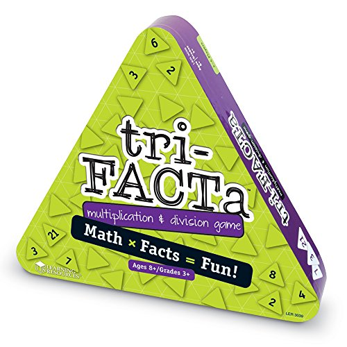 51Mdg6 beEL - Learning Resources tri-FACTa Multiplication & Division Game