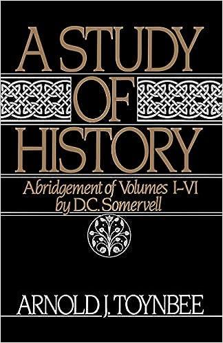 Risultati immagini per arnold toynbee the study of history