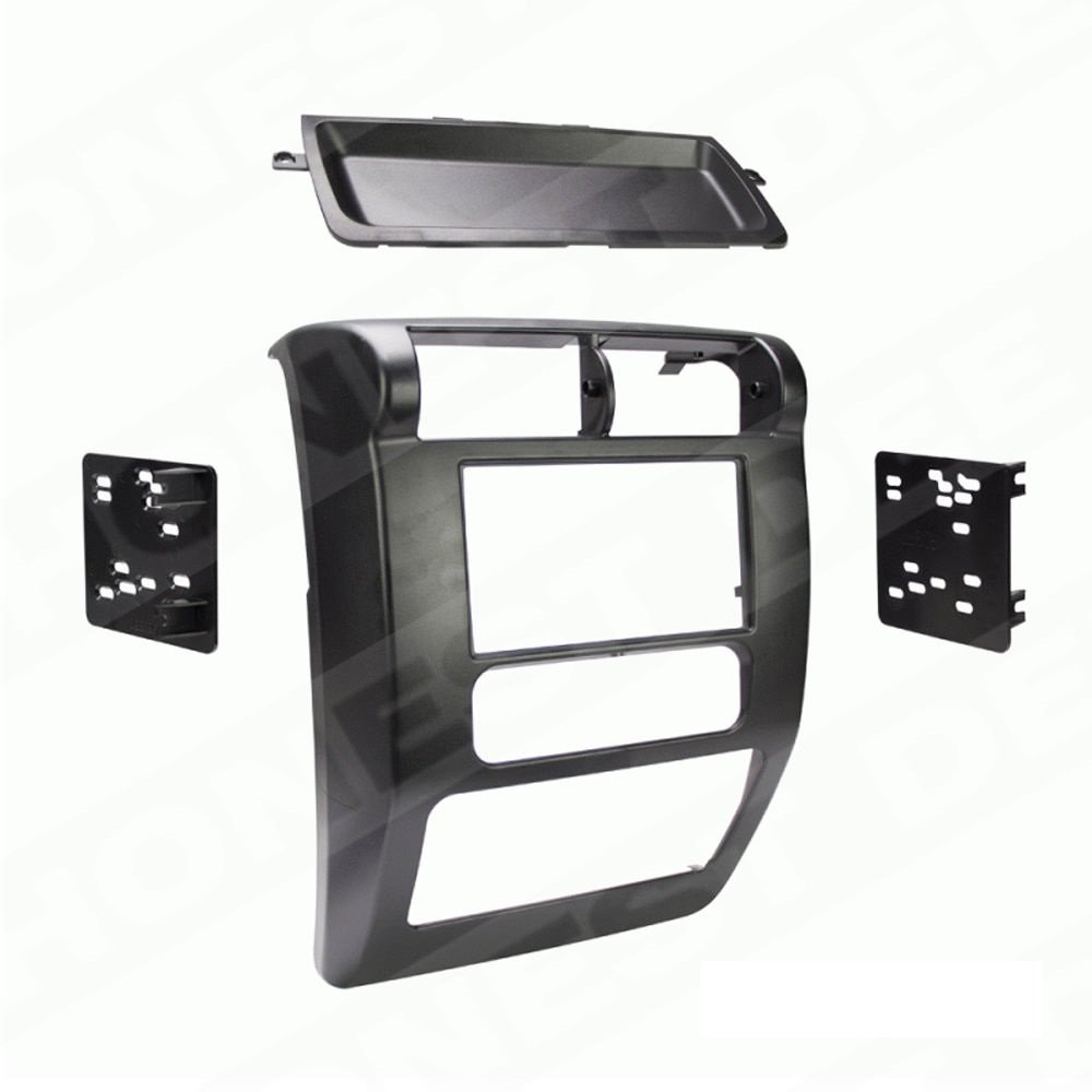 Metra 95-6541 Matte Black Double DIN Stereo Dash Kit for 2003-2006 Jeep Wrangler