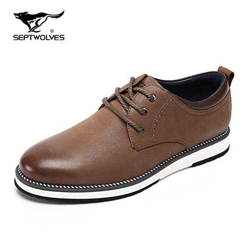 Scarpe Aemember uomini del primo strato di autunno popolare scarpe scarpe uomo testa rotonda cinturino Scarpe Casual uomini e ,40, la sua scheda