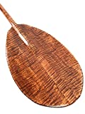 Decorative Hawaiian Outrigger Paddle 50'' w/ T Handle - Maple | #koa6077