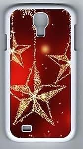 Bling Bling Star Hard Cover Back Case For Samsung Galaxy S4,PC White Case for Samsung Galaxy S4