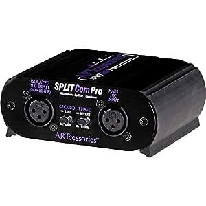 ART Splitcom Pro 2 Way Microphone Splitter and Combiner