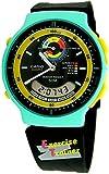 Casio - Reloj Analógico - Digital de Cuarzo para Hombre, correa de Goma color Negro