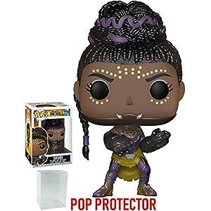 51MdheOtrVL. SS300 Funko Pop! Marvel: Black Panther - Shuri #276 Vinyl Figure (Includes Compatible Pop Box Protector Case)