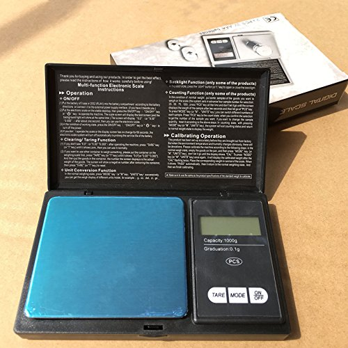 New Digital Scale 100g x 0.01g Jewelry Gold Silver Coin Gram Pocket Size - Shipping Usps Australia To