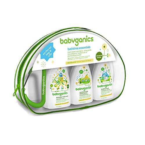 Babyganics Bathtime Essentials Gift Set 2PC