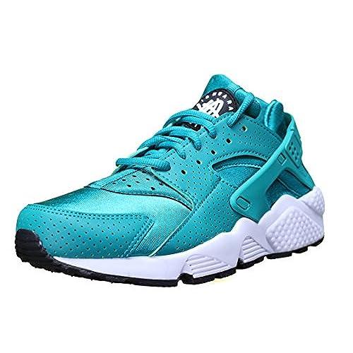 0beb268f5968 italy nike womens air huarache run trainers 634835 sneakers shoes us 9 rio  tral black 301