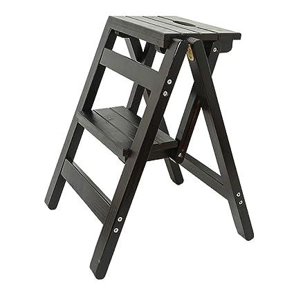 LXF Escaleras plegables Taburete plegable para escalones ...