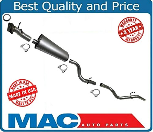 Mac Auto Parts 21668 02-05 Ford Explorer Mountaineer Muffler Exhaust System Vin K & W Made In (Exhaust System Ford Explorer)