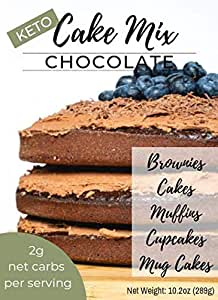 Primal Noms Keto Chocolate Cake Mix - Moldes para magdalenas ...