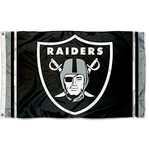 (WinCraft Oakland Raiders Large NFL 3x5 Flag )