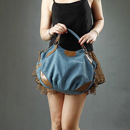 café One Bleu l'épaule Sac pour Blue Size à Porter Yoome Yoohobo0038 Femme à Beige EPqOnx8Rwv