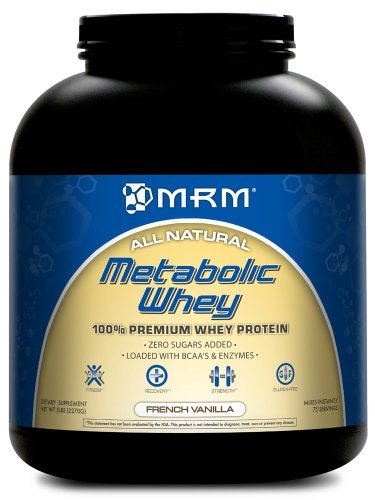 Metabolic Whey, French Vanilla, 5.0 lbs (2270 g) by MRM by MRM