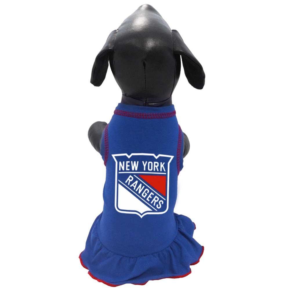 b391ead6641 Amazon.com : All Star Dogs NHL Unisex NHL New York Rangers Dog Cheerleader  Dress : Sports & Outdoors