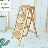 YD-Step stool Kitchen Wooden Ladders Small Foot Stools...