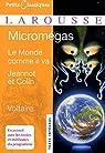 Micromégas par Voltaire
