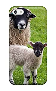 Iphone 5/5s IuuMllJ4596ViDdR Sheep Tpu Silicone Gel Case Cover. Fits Iphone 5/5s