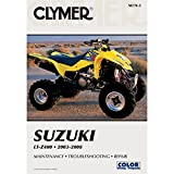 2003-2008 CLYMER SUZUKI ATV LT-Z400 SERVICE SHOP MANUAL M270-2