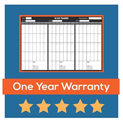 Amazon.com: Calendario de pared borrado en seco planificador ...