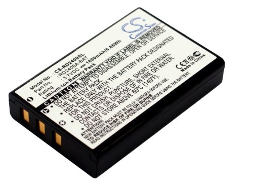 Cameron Sino 1800mAh Battery for Lawmate PV-1000, PV-700, PV-800, PV-806, RCA Lyra X2400, Thomson X-2400