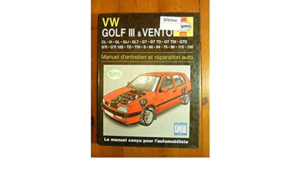 Volkswagen Golf III / Vento (French service & repair manuals) (French Edition): 9781859602003: Amazon.com: Books