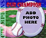1/2 Sheet - Baseball Birthday - Cake Photo Frame - Edible Cake/Cupcake Topper!!!