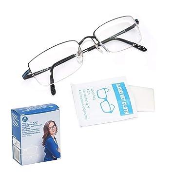 Toallitas limpia gafas sin alcohol 30 uds: Amazon.es: Bricolaje y herramientas