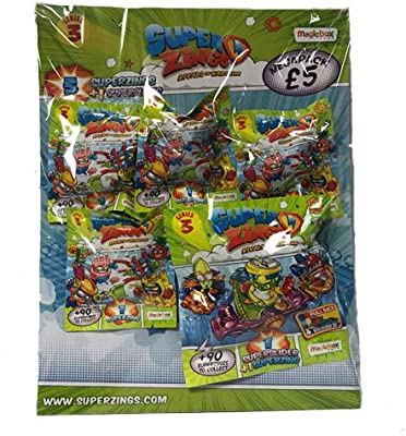 SuperZings MBXPSZ3M112UK00 Series 3: Rivals of Kaboom Mega Pack ...