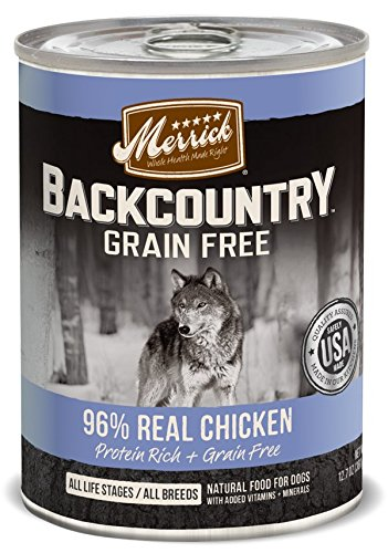 Merrick Chicken Recipe Backcountry Real Food for Pets, 12.7-
