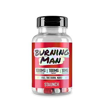 Staunch Burning Man 90 Capsules Diet Pills Weight Loss Supplement