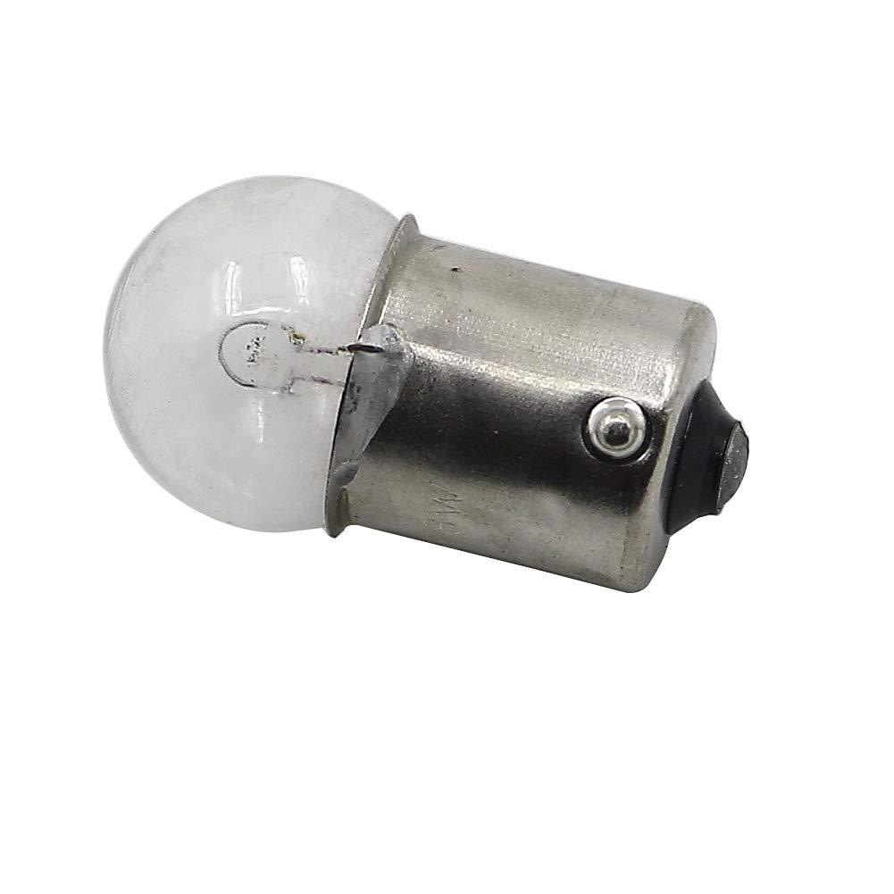 Motorrad Anzeigelampe Lampe F/ür CB125 CB100 S90 CS90 CL100 CD175 CD125 SB100 S110 S50 34905-035-000 6V 8W 10PC