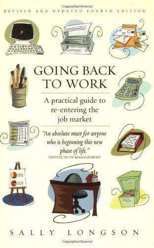 Download Going Back to Work pdf epub