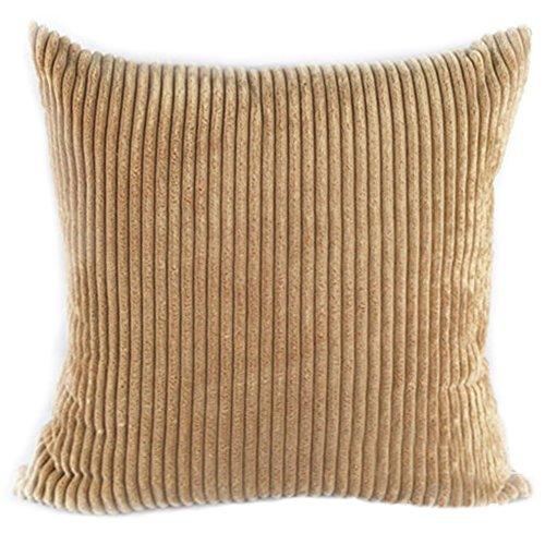 Famibay Super Soft Cushion Cover 18 x 18 ,Decorative Square