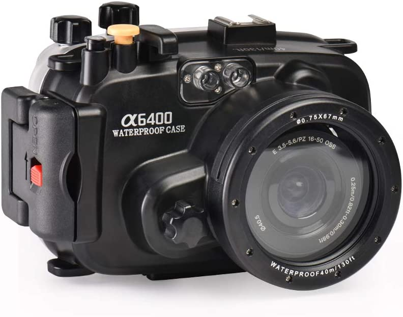 Sea frogs for Sony NEX-7 18-55mm Lens Underwater Waterproof Housing Camera Case