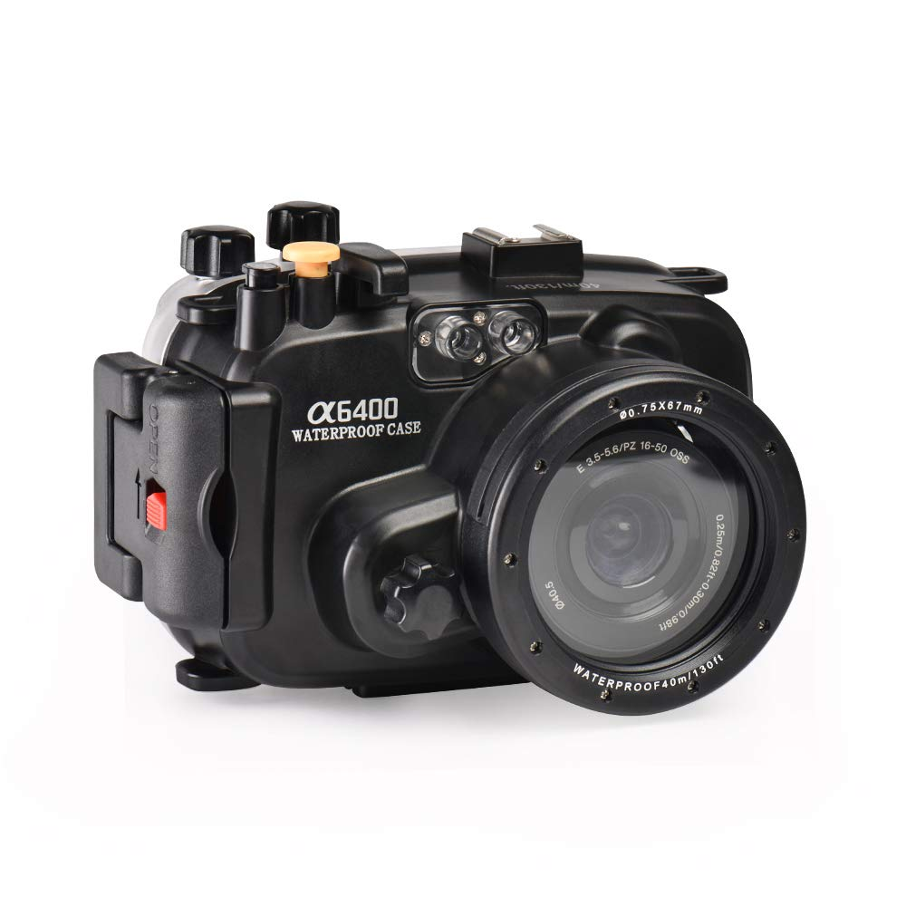 Sea frogs for Sony A6400 Underwater Camera Housing by Sea frogs
